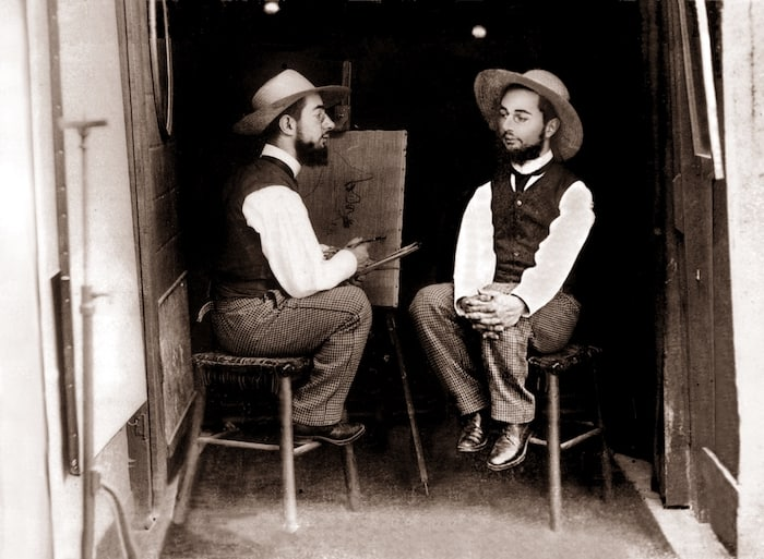 Maurice Guibert, Mr. Toulouse paints Mr. Lautrec, 1891