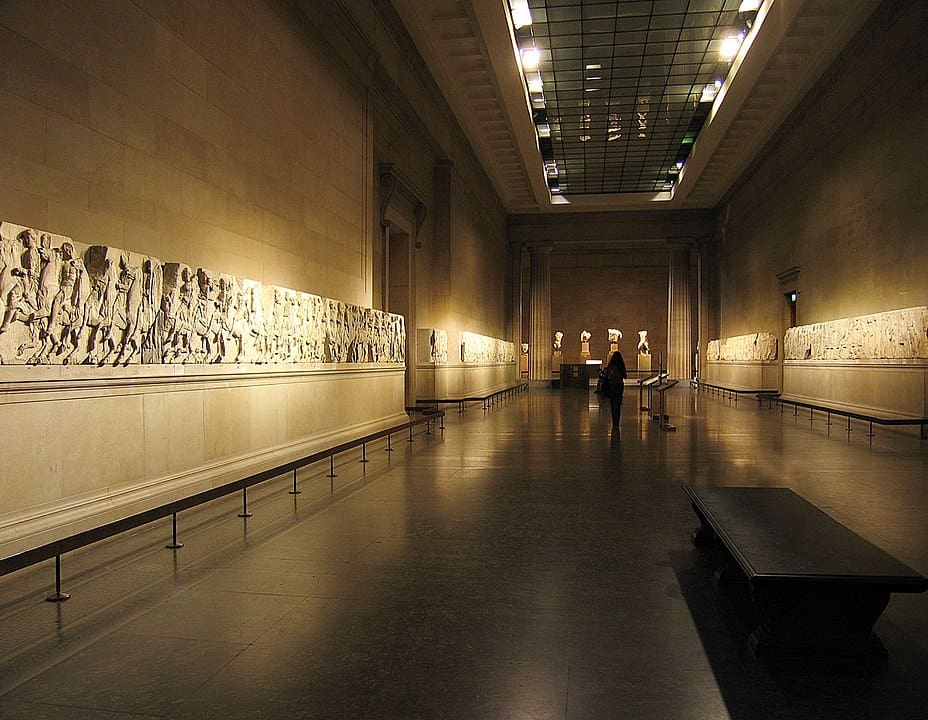 Elgin Marbles, British Museum, CC BY-SA 2.0